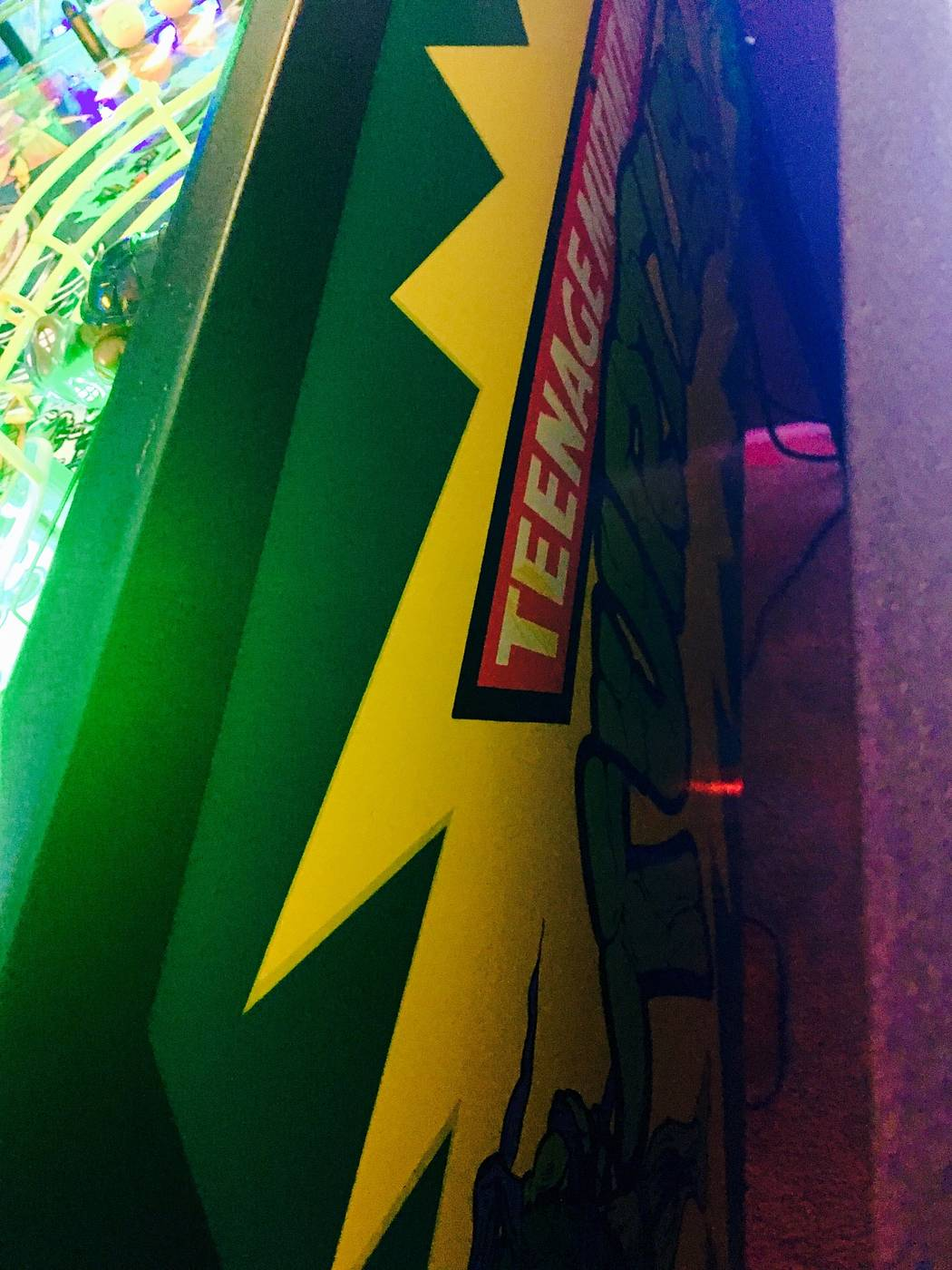 turtles pinball machine for sale