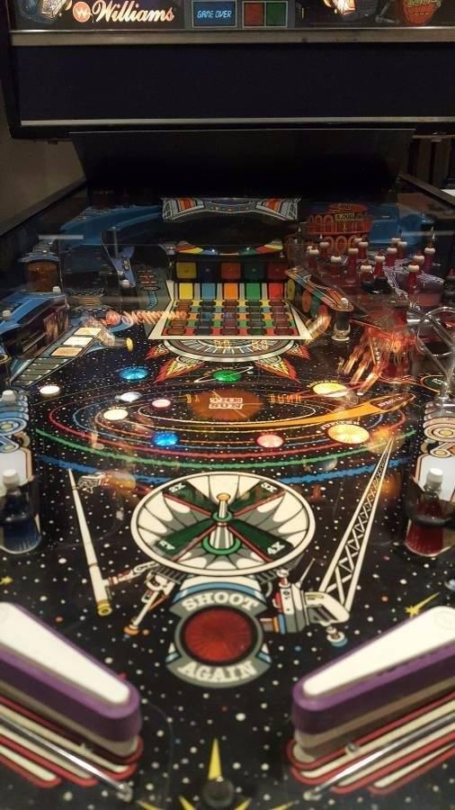 pinbot pinball machine for sale