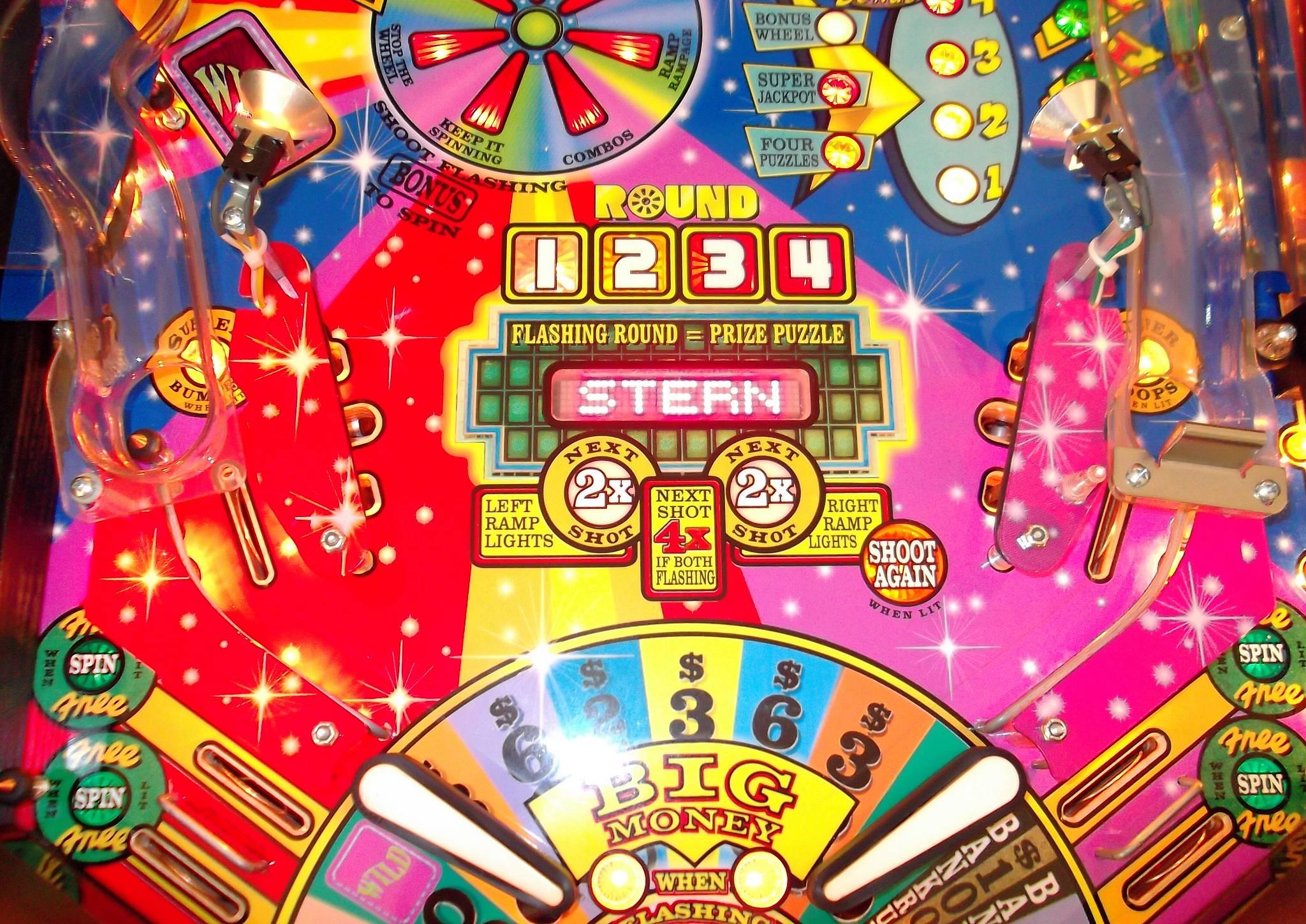 Wheel Of Fortune Pinball