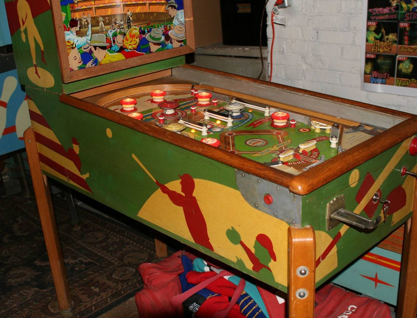 williams slugfest pinball machine for sale
