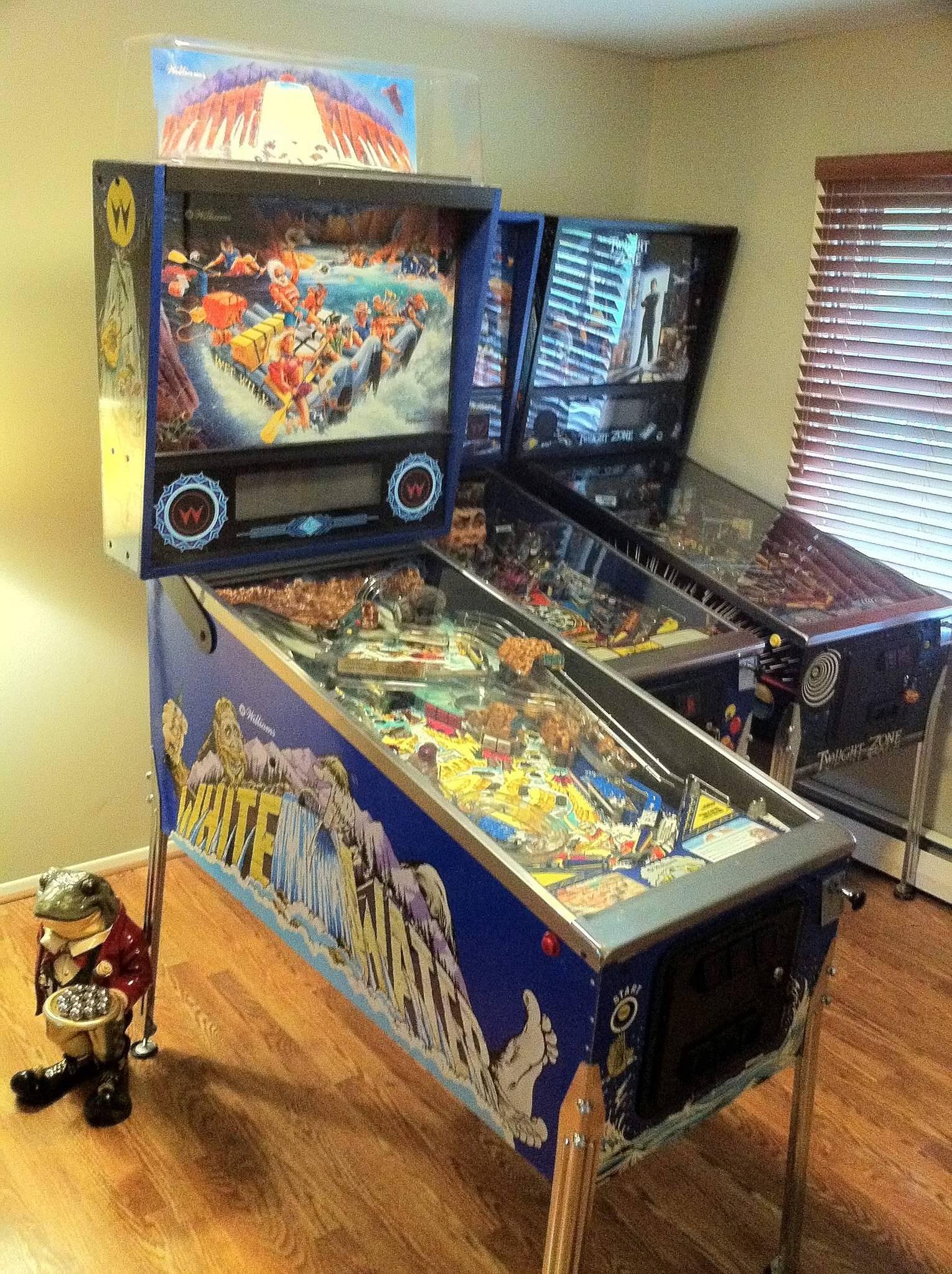 white water pinball machine for sale
