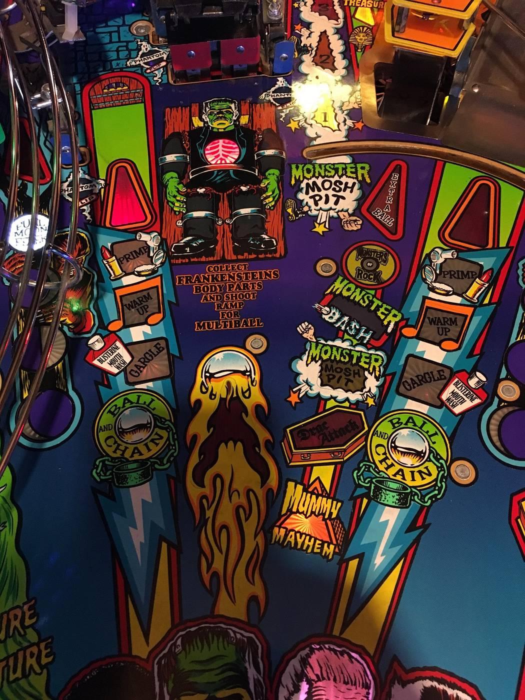 bash pinball machine for sale