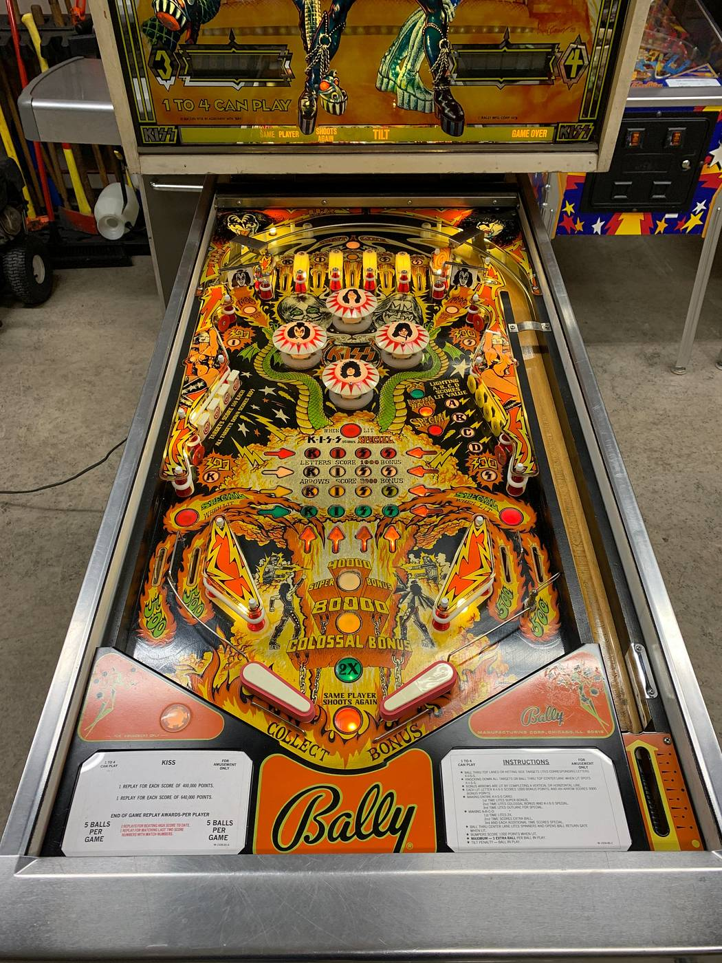 For sale: Bally KISS - for sale | Pinside Market