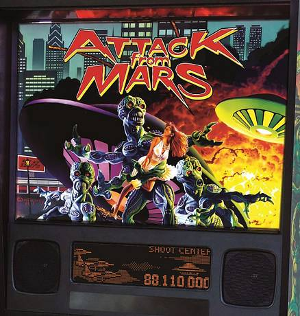 #1: Attack From Mars (Remake - Classic)