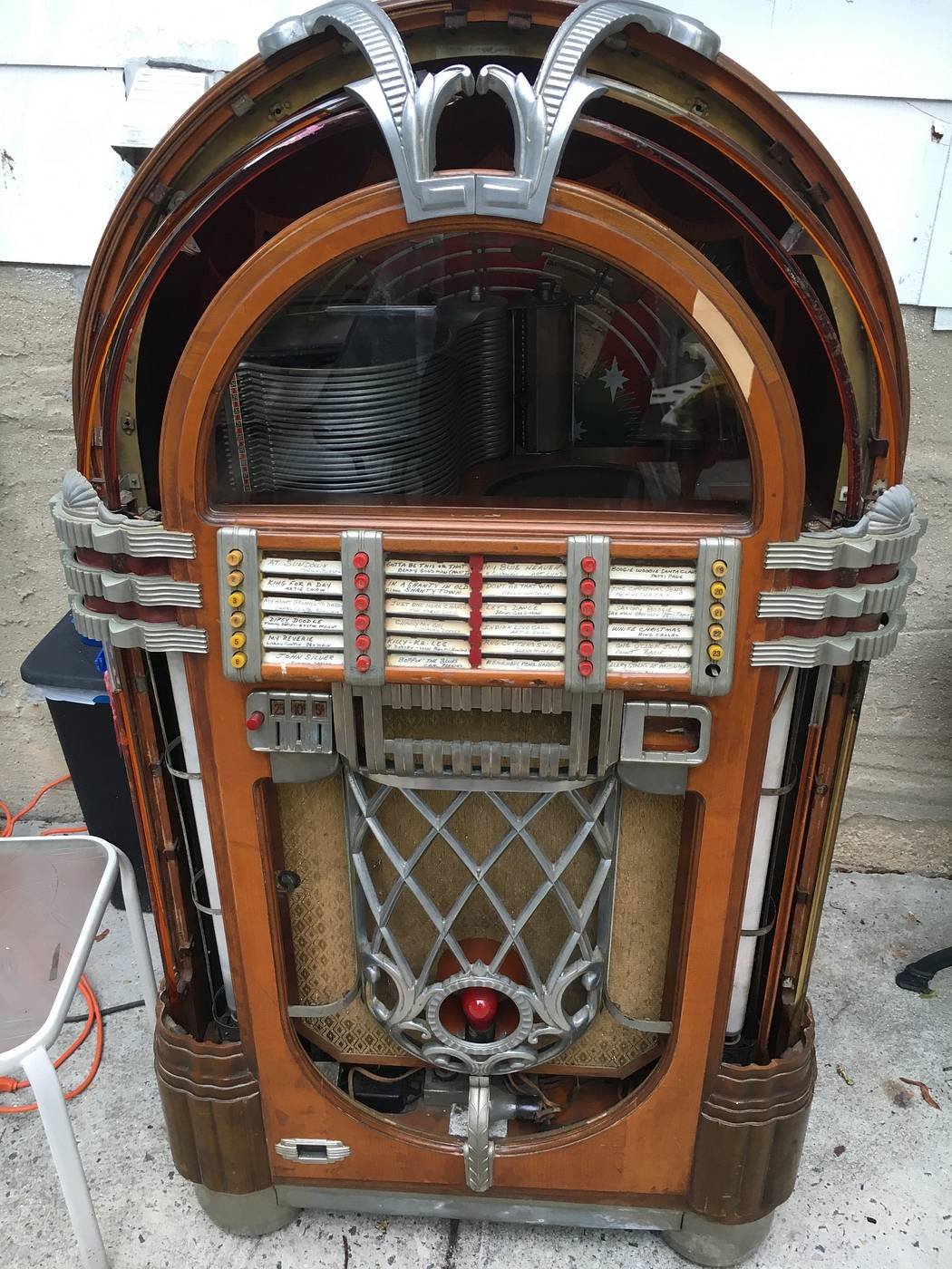 1946 wurlitzer jukebox 1015 - for sale | Pinside Market