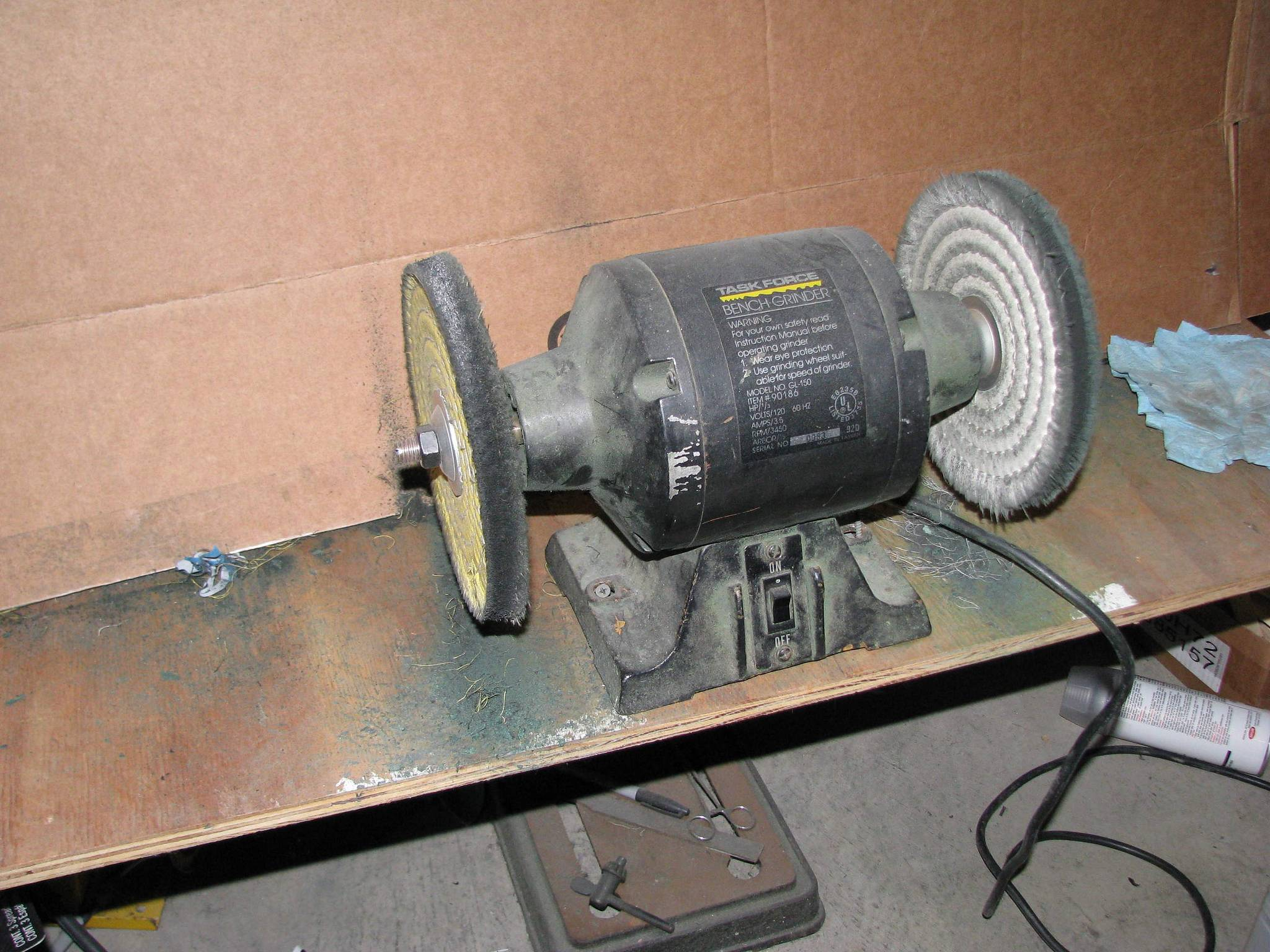 Buffing Wheel Suggestions Bench Grinder Isn T The Best