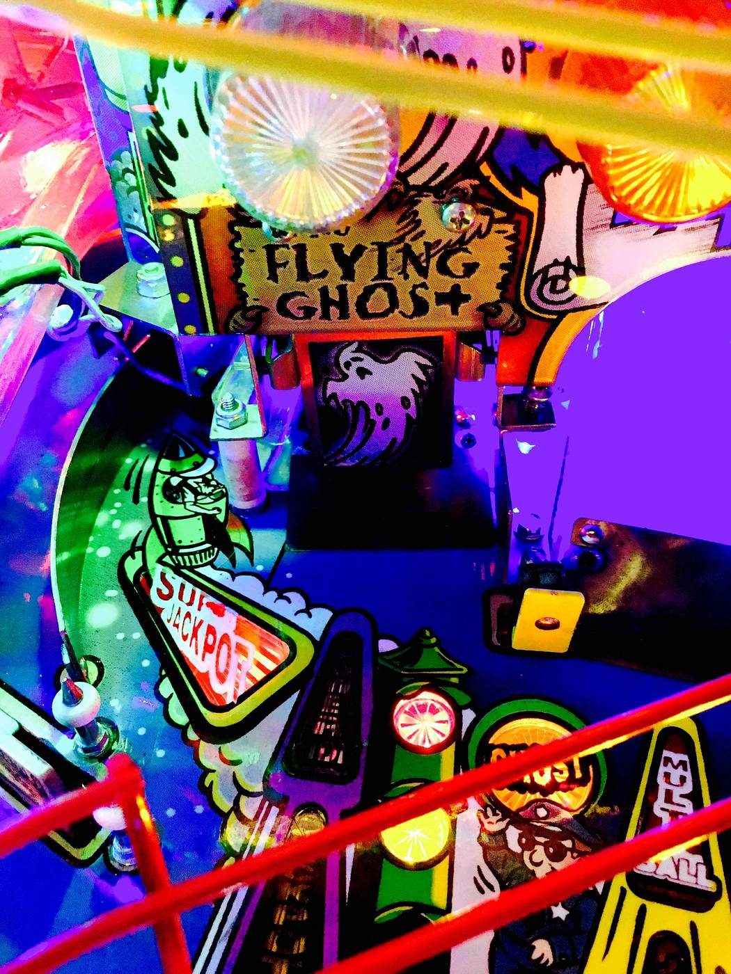roller coaster tycoon pinball machine for sale