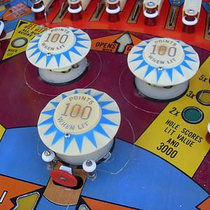 bally supersonic pinball machine for sale