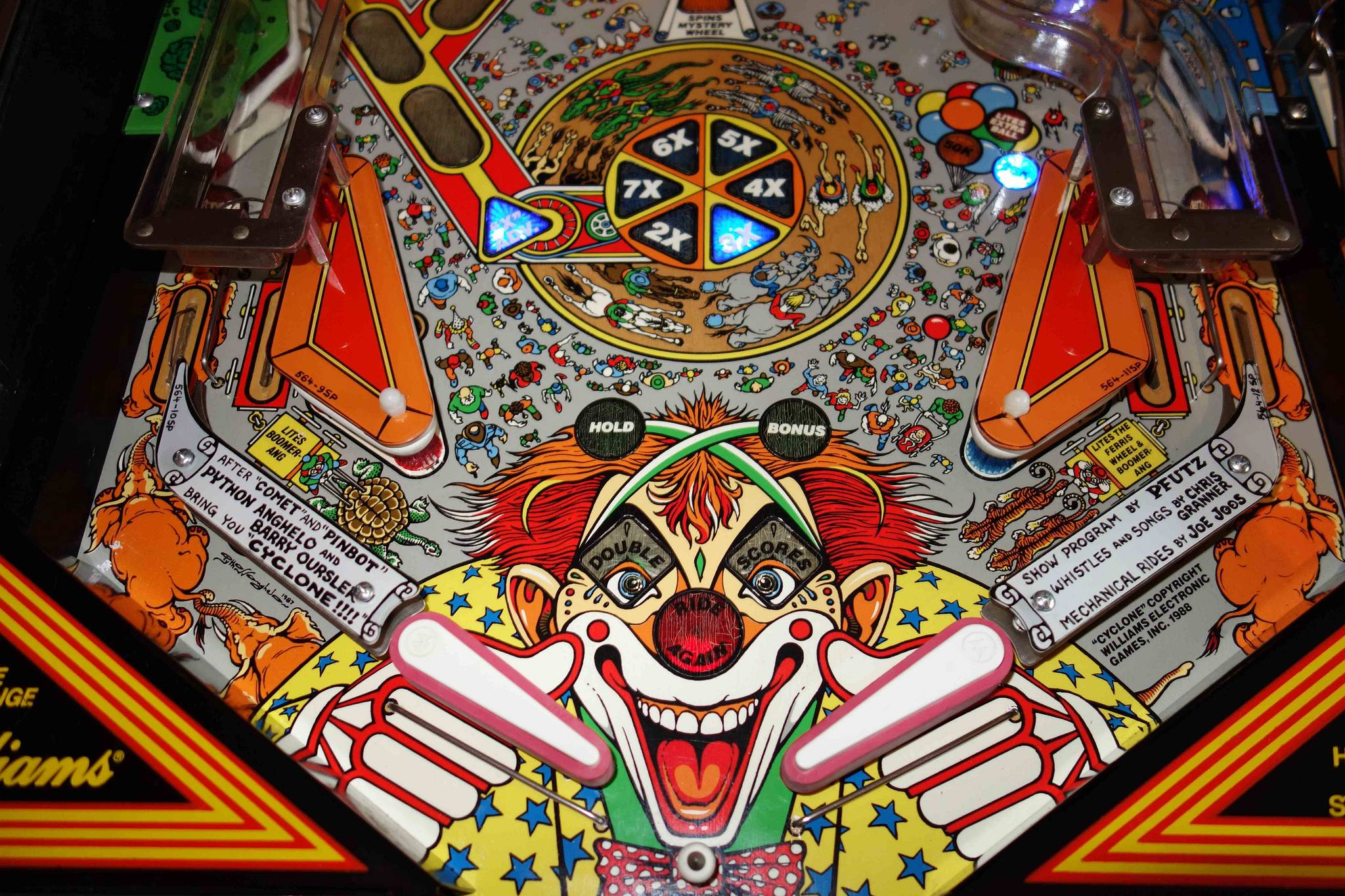 williams cyclone pinball machine for sale