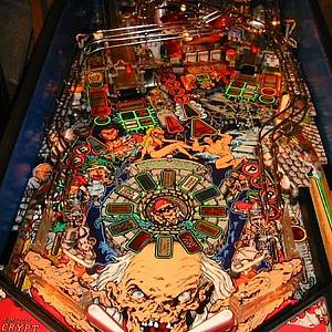 Tales From The Crypt Pinball Machine Data East 1993