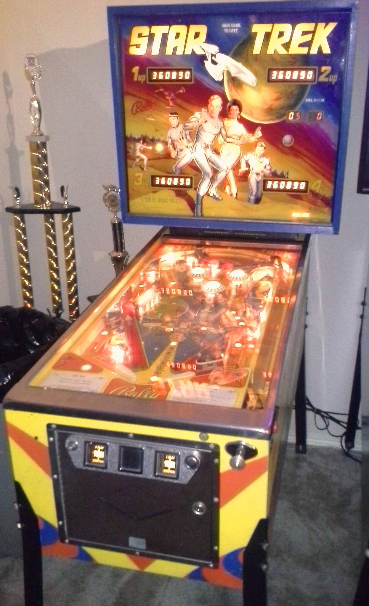 1978 trek pinball machine for sale