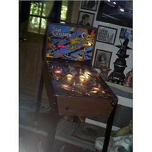 explorer pinball machine for sale