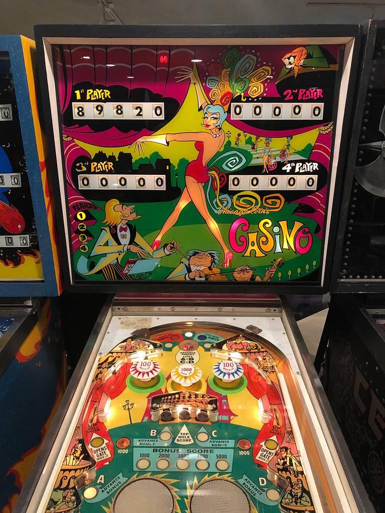 Casino pinball machine dirt track racing 2 pc game