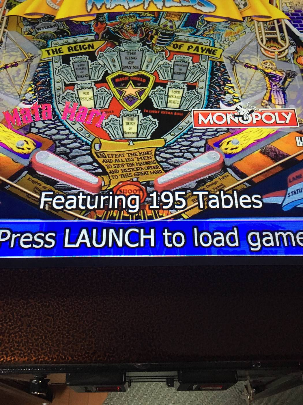 vp cabs virtual pinball le - for sale | Pinside Market