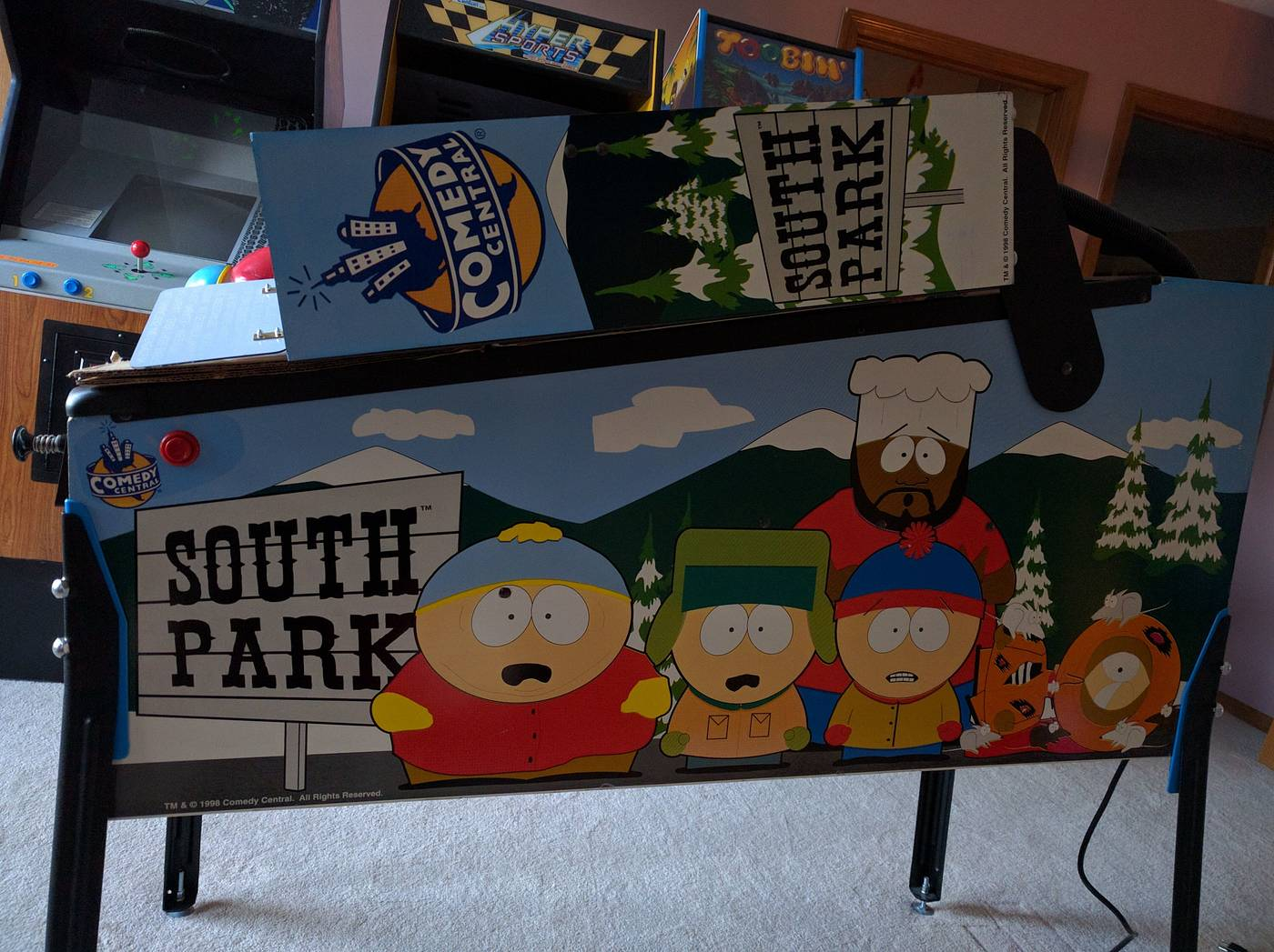 For sale/Trade: Nice South Park (Looking for TZ) | Pinside ...