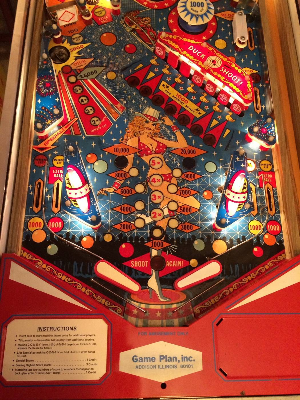Coney Island Pinball For Sale