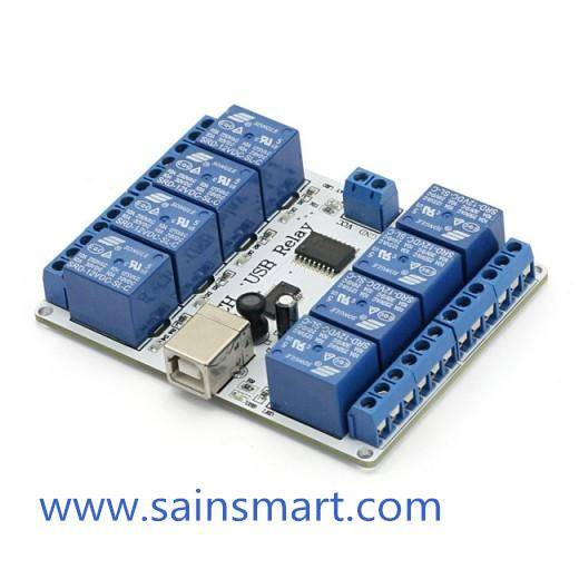 5V / 12V Arduino 8 Relay Module Control Board With