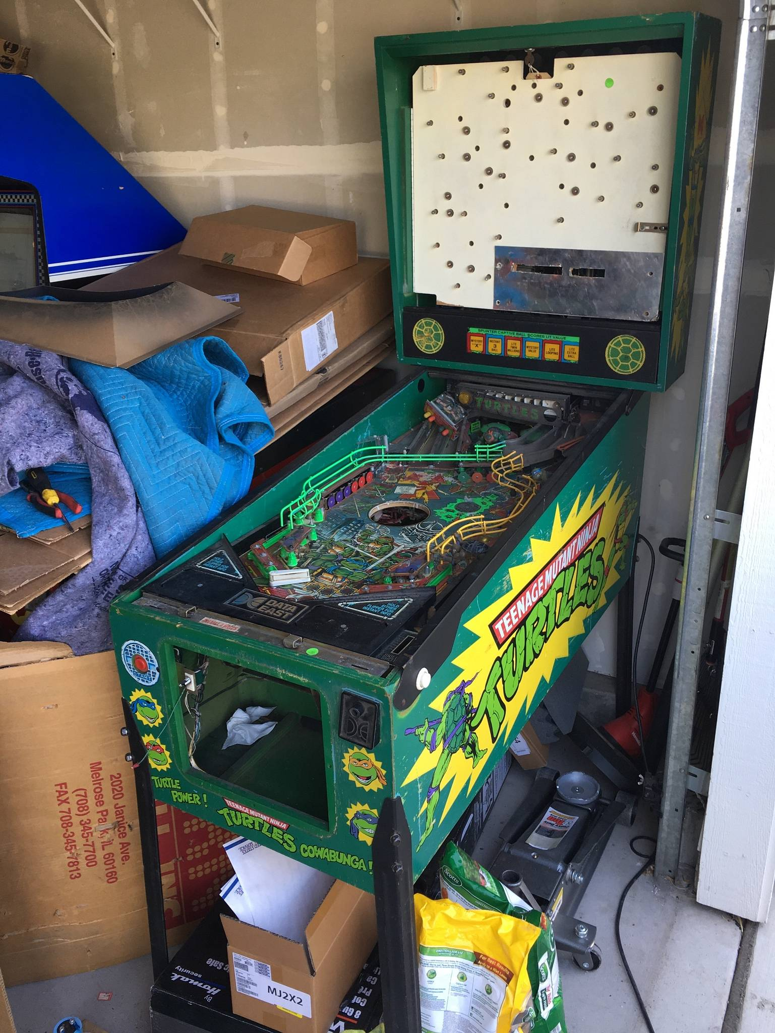 turtle pinball machine for sale