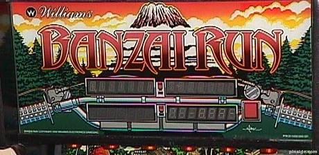 #21: Banzai Run