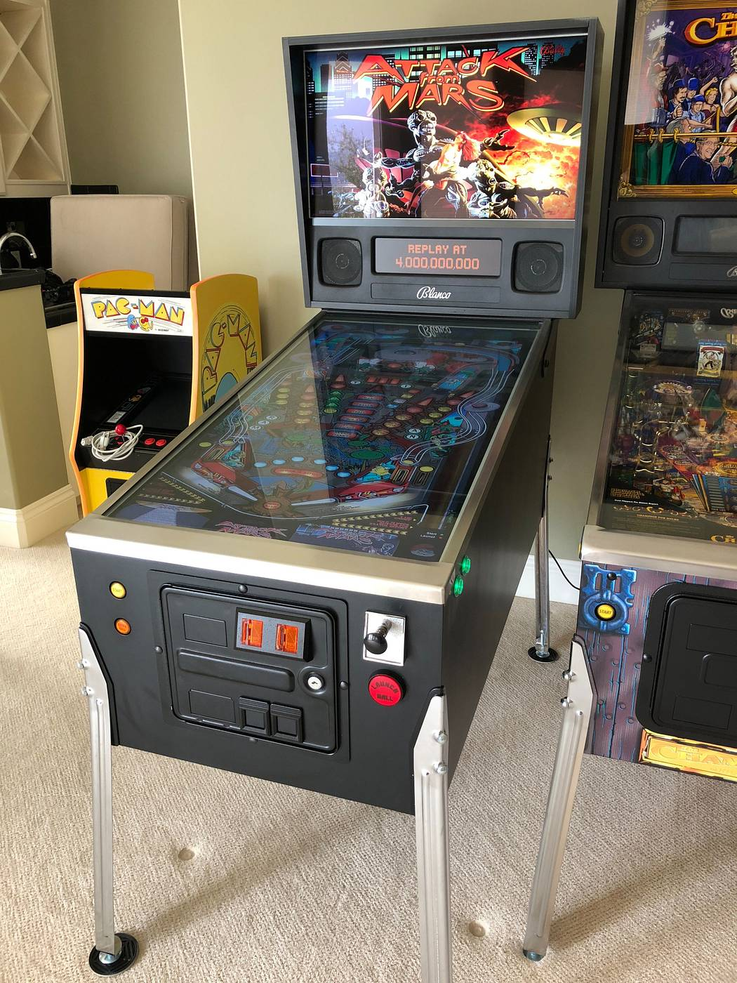 Virtual Pinball Machine - 3 Displays + Force Feedback + More