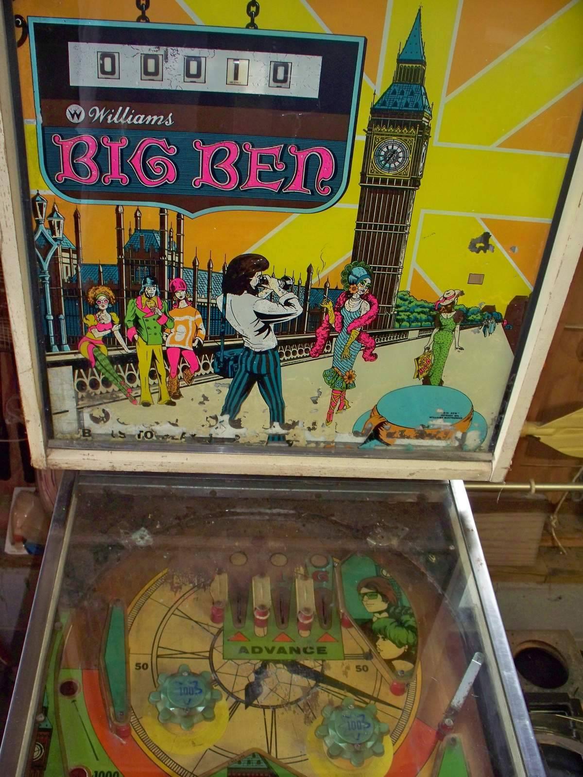 big ben pinball machine