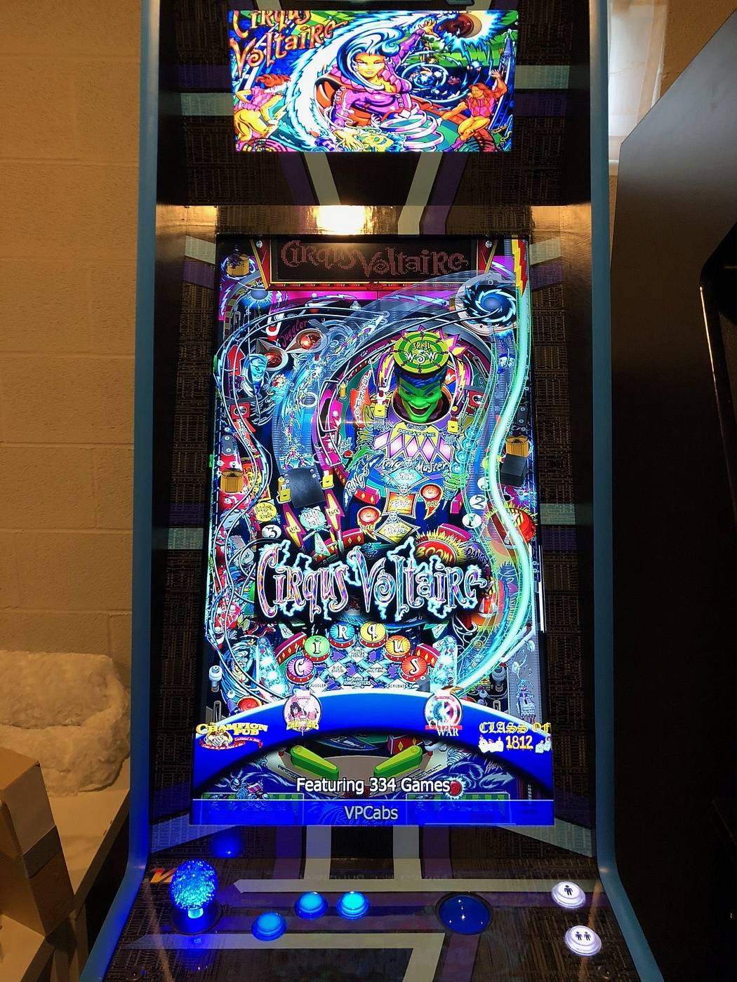 VP Cabs Vertigo Virtual Pinball - for trade | Pinside Market