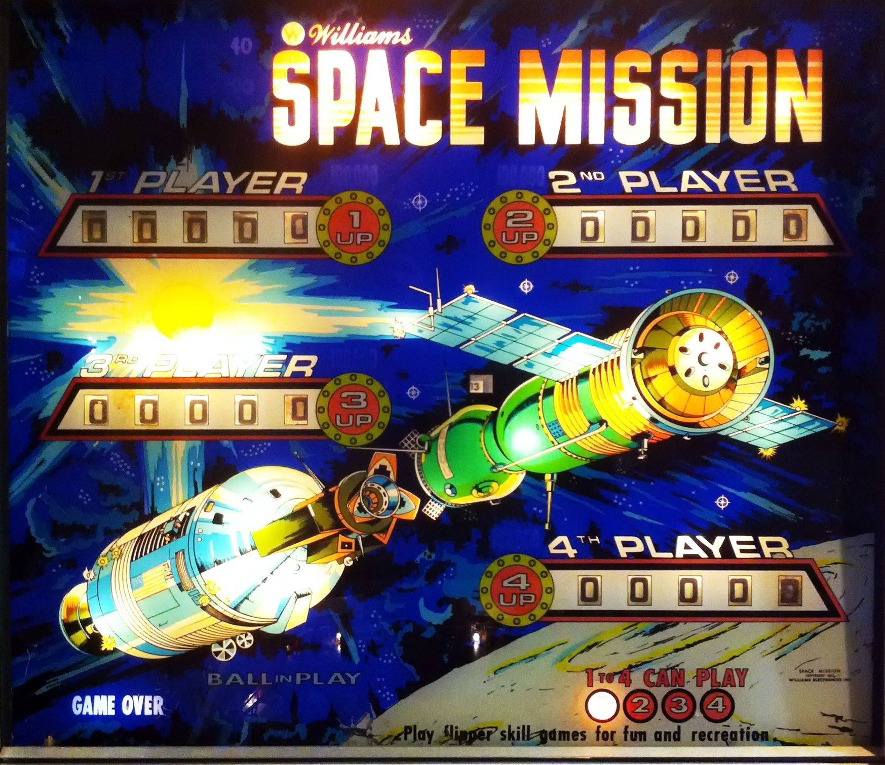 For sale: Space Mission (Williams, 1976) | Pinside Forum