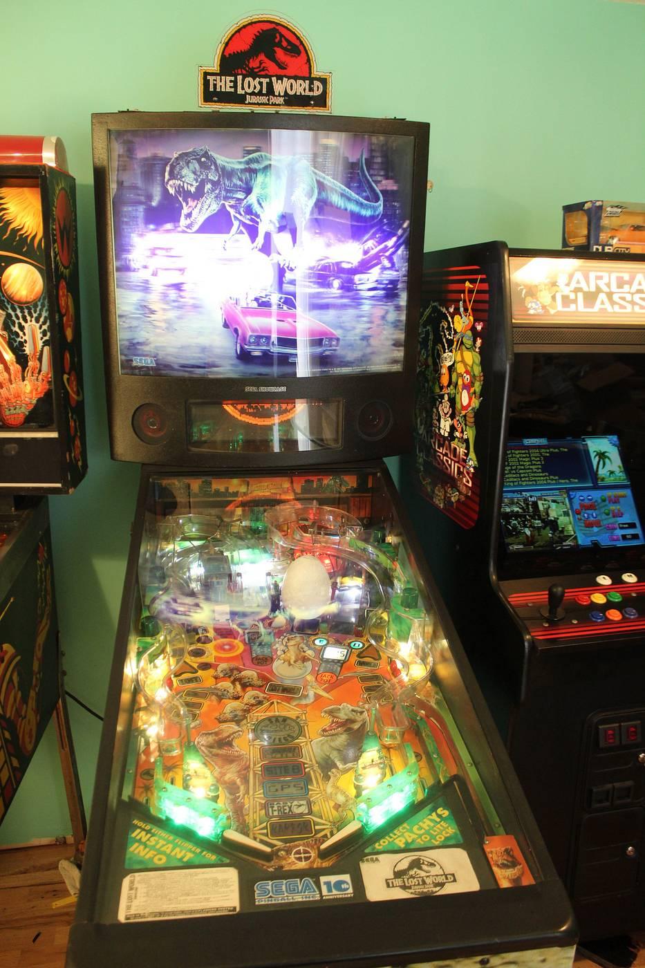 lost world pinball machine for sale