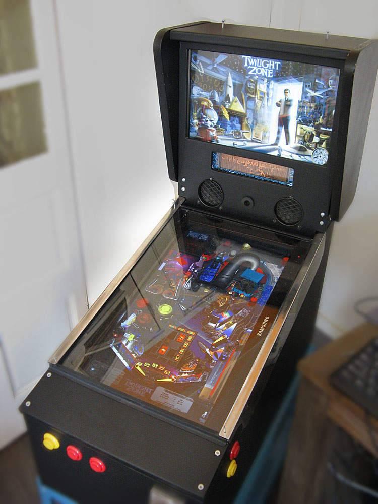 Budget Build Visual Future Pinball Cabinet All Pinball