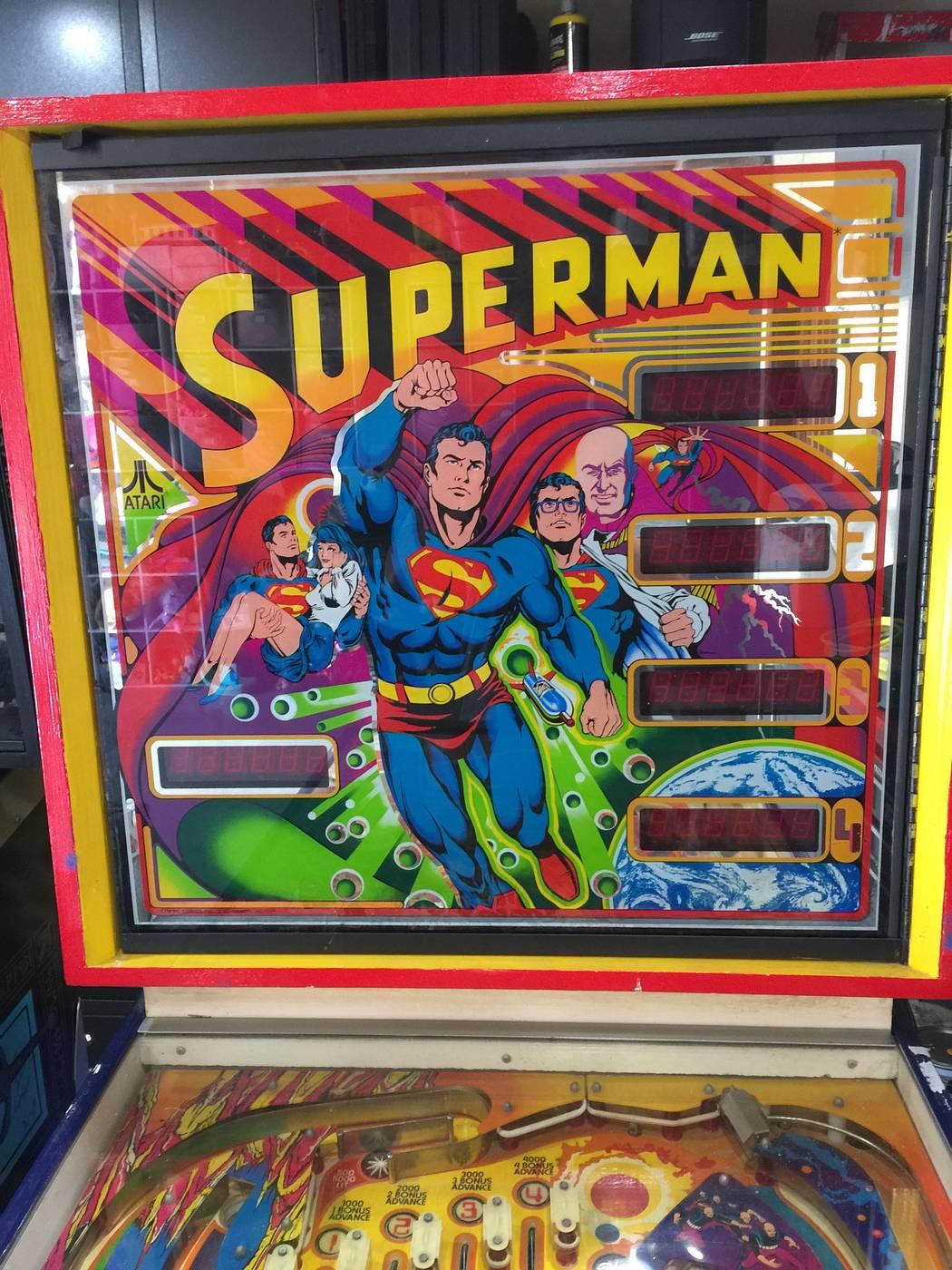 Pop Machine For Sale >> For sale: Superman (Atari, 1979)   Pinball machines for ...