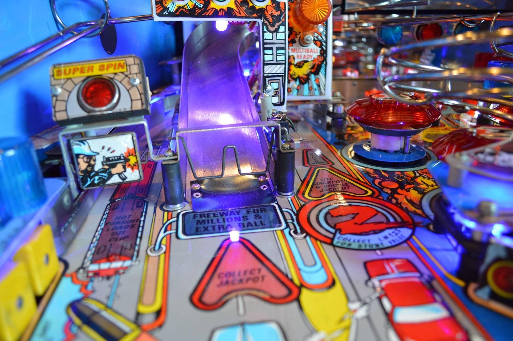 lethal weapon 3 pinball machine