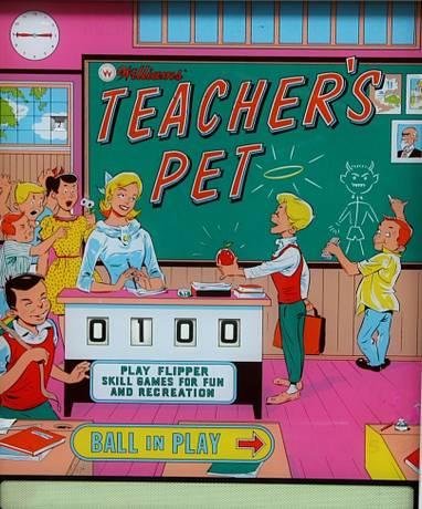 #121: Teacher's Pet