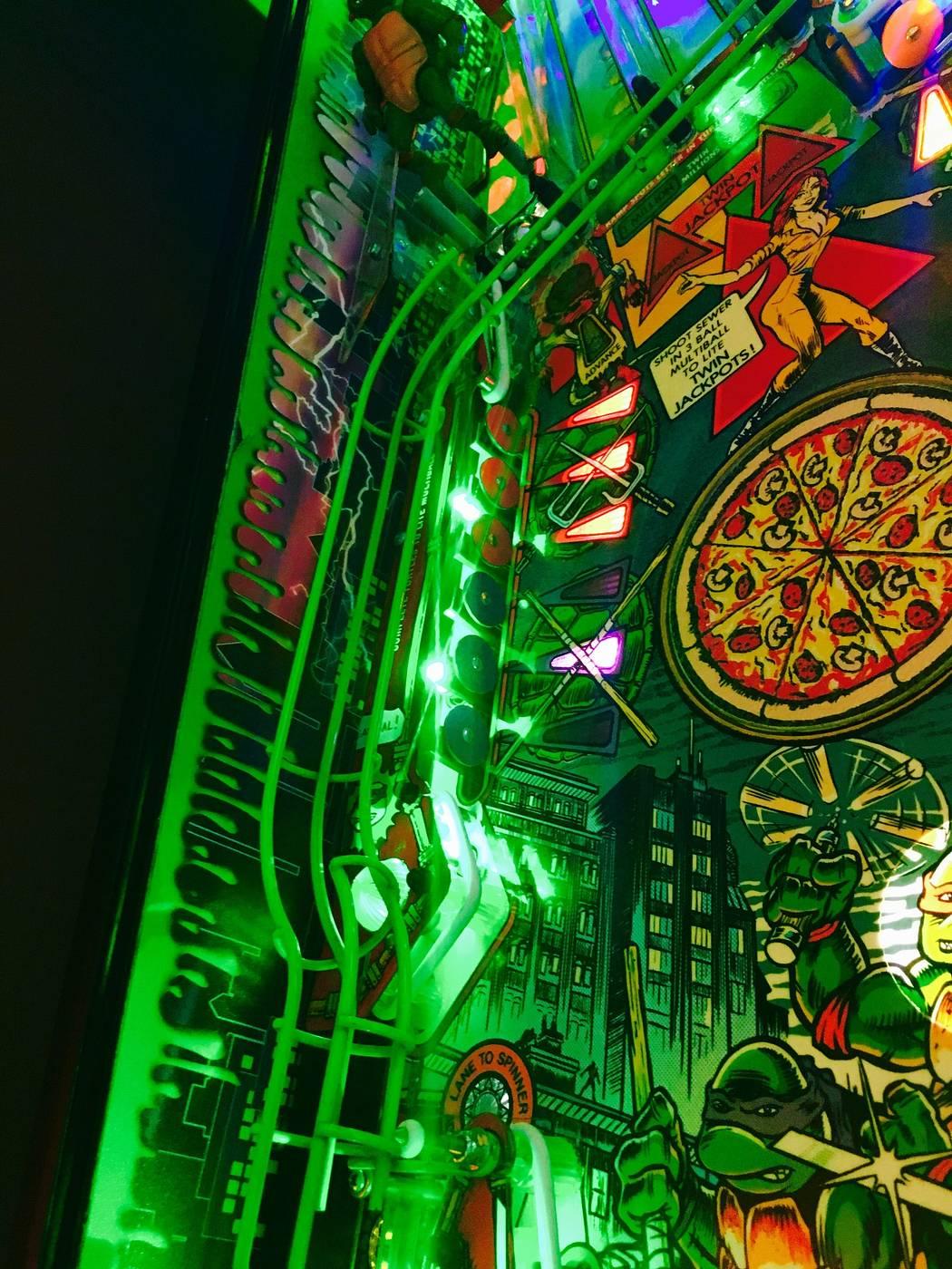 mutant turtles pinball machine for sale