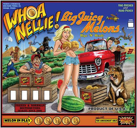 #6: Whoa Nellie! Big Juicy Melons