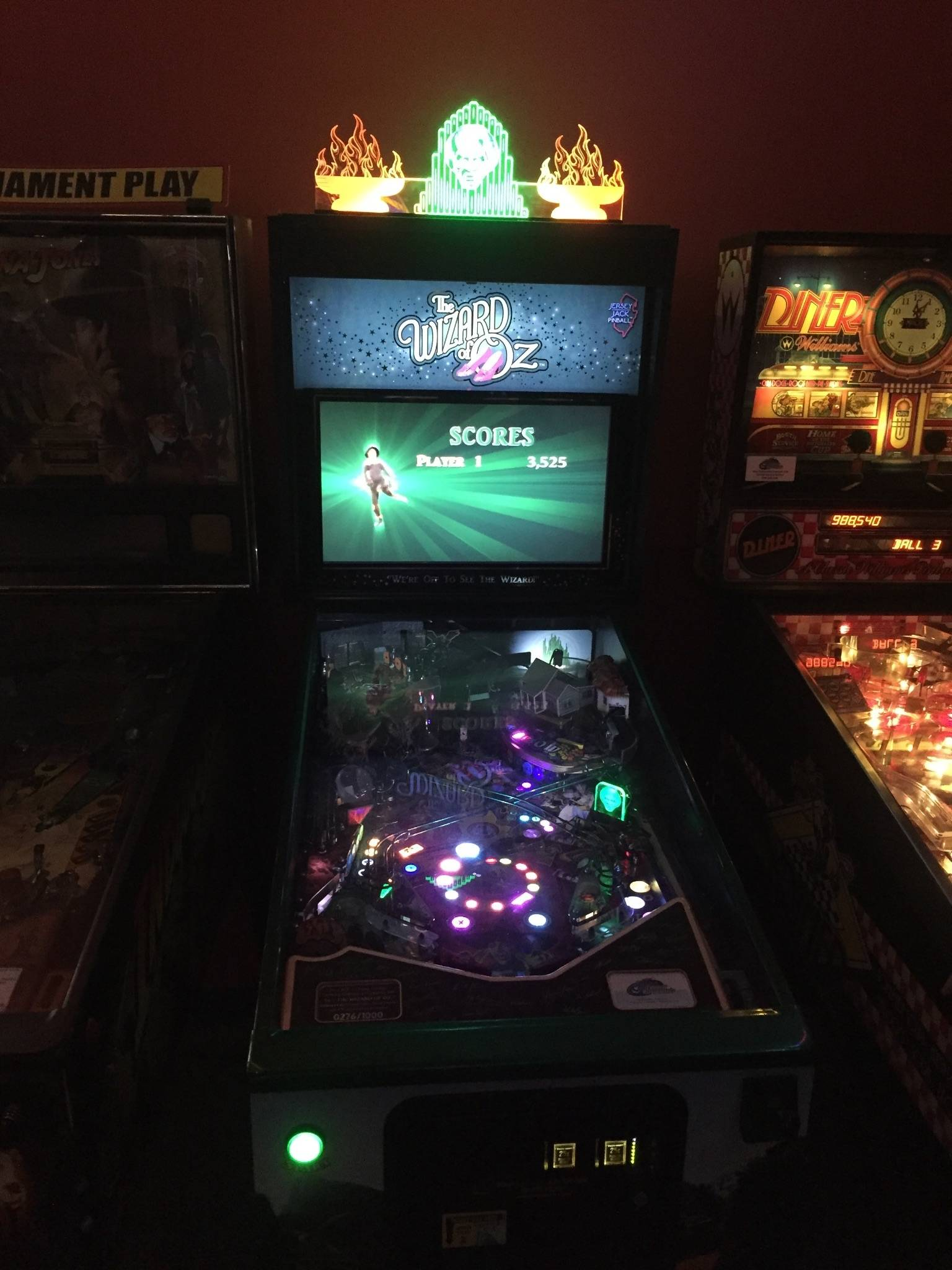 pinball machine san diego