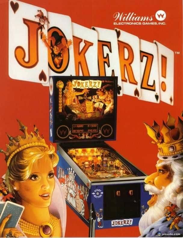 Jokerz! Pinball - CPU 2 Rom Set | Pinside Market