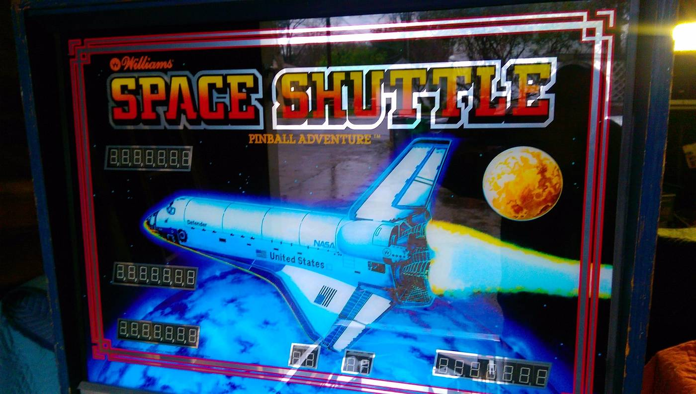 For sale: Partially Restored Space Shuttle | Pinball ...