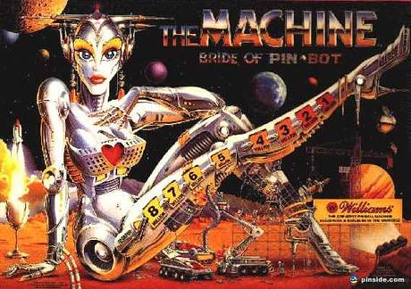 #21: Machine: Bride of Pinbot, The