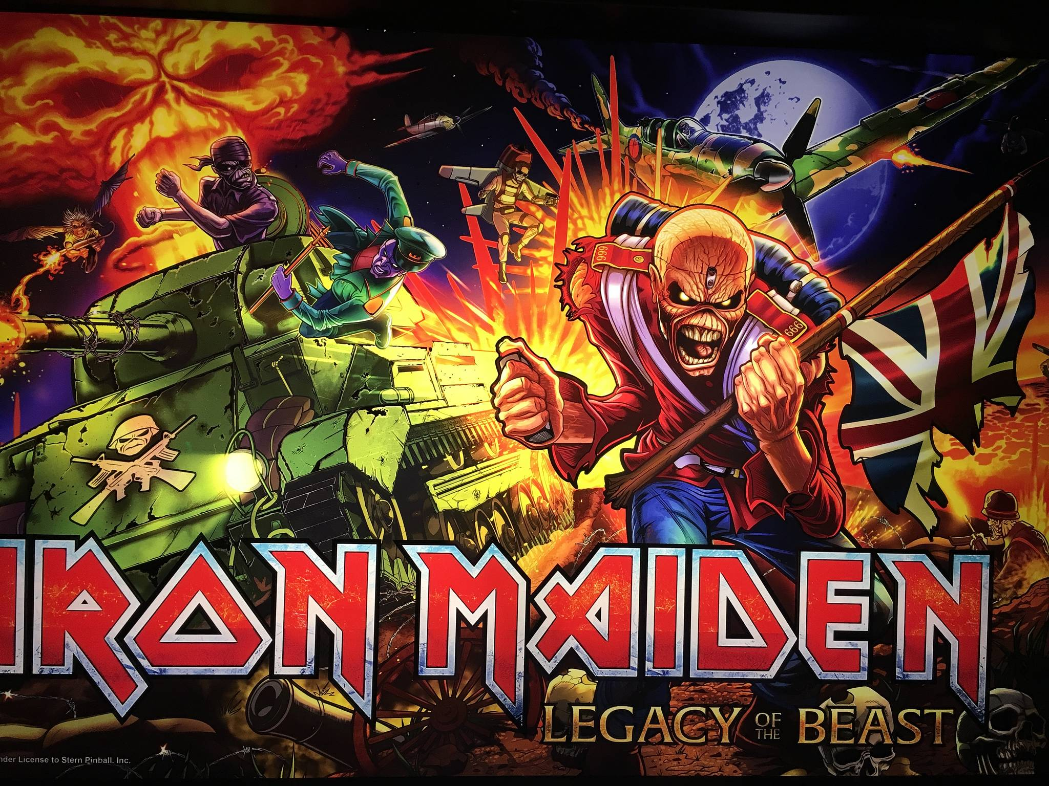 Iron Maiden: Legacy of the Beast (Premium/LE) Pinball