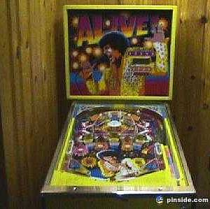 alive pinball machine for sale