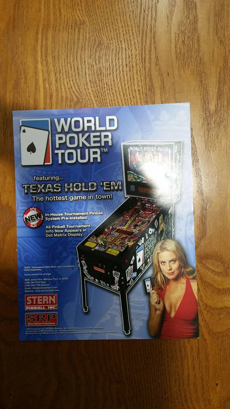 Stern world poker tour pinball for sale - New casino royale