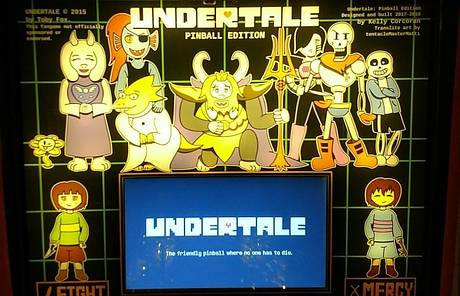 #481: Undertale: Pinball Edition