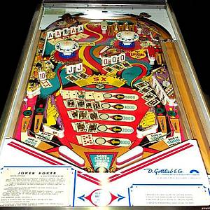 Joker Poker Pinball Machine Gottlieb 1978 Pinside