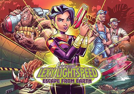 #91: Lexy Lightspeed - Escape From Earth