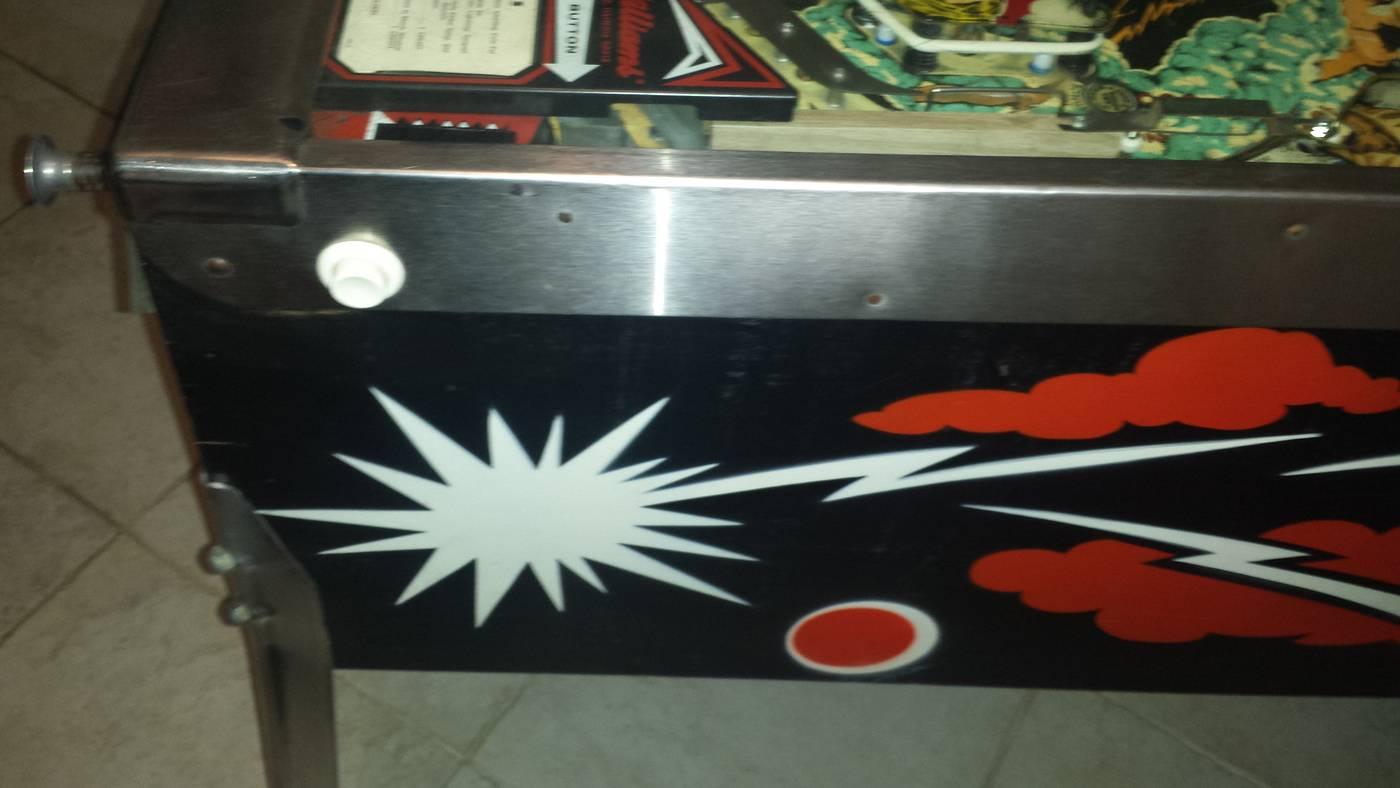 williams flash pinball machine for sale