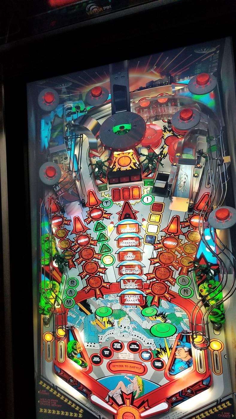 Virtual Pinball Machine 4k 43 - for sale | Pinside Market