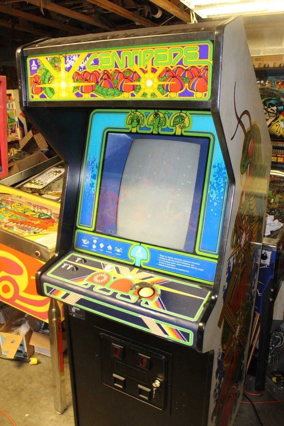 Atari Centipede Full Size Arcade Machine For Sale Pinside Market