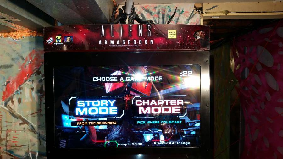 Aliens Armageddon Arcade Gun Game - for sale | Pinside Market